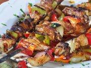 Szaszłyki mięsno warzywne z grilla dla diabetyków
