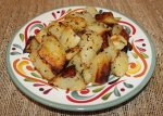 obiad z ziemniaków