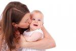 dziecko z mamą