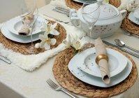 porcelanowy serwis